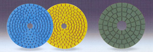 Diamond flexible polishing pad - Go to GMG Home Page
