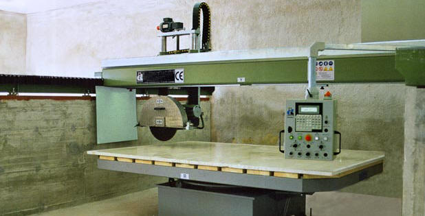 Bridge cutter for marble - go to  GMG Company Profile